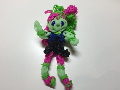 Венера (Monster high) из Rainbow Loom