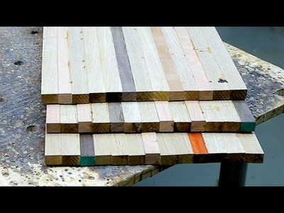 Making end grain cutting boards without drawings
