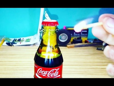 DIY,СВЕЧКА ИЗ COCA COLA + КАК СДЕЛАТЬ ? ,100 business ideas (1) The hands