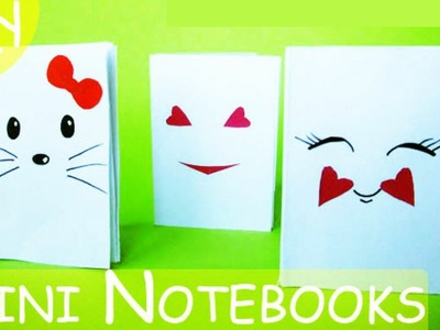DIY Оригами мини БЛОКНОТ Kawaii | How to Make Mini Notebooks Origami Kawaii (from 1 sheet of Paper)