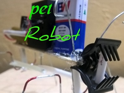 How to make  pet robot powerfull at home easy must watch