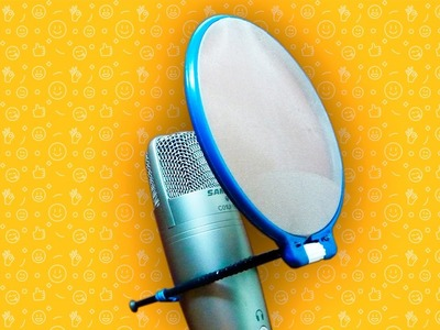 #DIY - How to make your own microphone Pop Filter | Samson C01U Pro