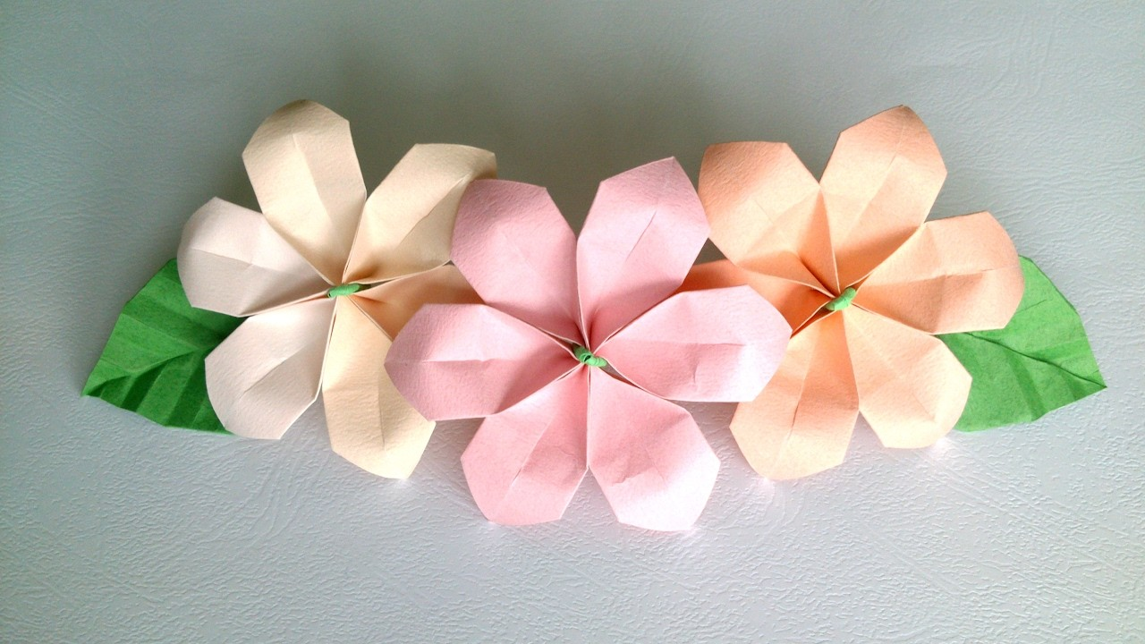 How To Make Origami Flowers With Notebook Paper Flowers Healthy