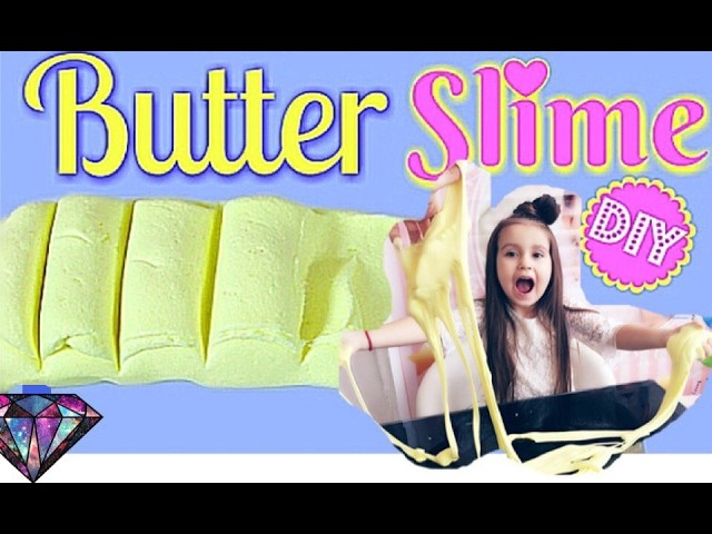 how to make butter slime no borax