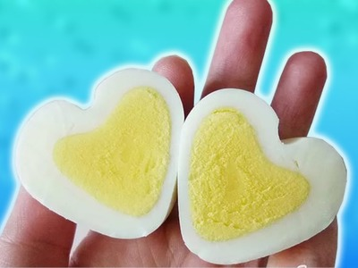 DIY | Amazing egg in the shape of a heart! How is this possible | Food hacks