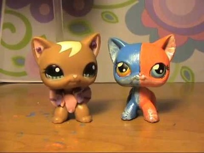 LPS: МК ООАК  LPS. How to make OOAK LPS 猫