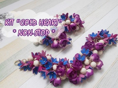 """KIT """"COLD HEART"""" * NON-STOP * POLYMER CLAY *"""