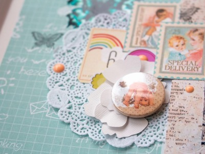 PABD Inspiration Scrapbooking album