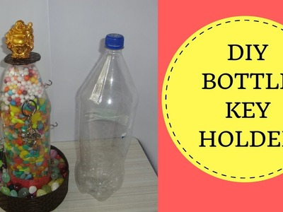 Waste plastic bottle craft. manualidades con botellas de plastico faciles de hacer.