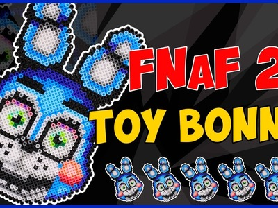 Как сделать Той Бонни Из ТермоМозаики. Toy Bonnie FNaF2 Hama Beads. DIY Toy Bonnie Tutorial.